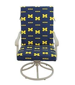 NCAA® Michigan Wolverines 2-pc. Chair Cushion