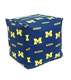 NCAA® Michigan Wolverines Cube Cushion