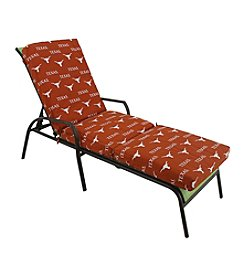 NCAA® Texas Longhorn 3-pc. Chaise Lounge Cushion