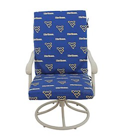 NCAA® West Virginia Mountaineers 2-pc. Chair Cushion
