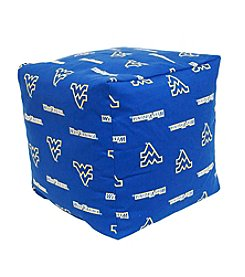NCAA® West Virginia Mountaineers Cube Cushion