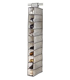 Laura Ashley® Non-Woven 10-Shelf Shoe Organizer