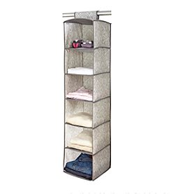 Laura Ashley® Non-Woven 6-Shelf Organizer