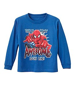 Mad Engine Boys' 4-7 Spiderman® Awesome Tee