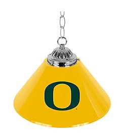 NCAA® University of Oregon Single Shade Chrome Bar Lamp