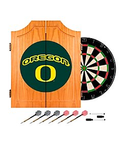 Trademark NCAA® Oregon Ducks Wood Dart Cabinet Set