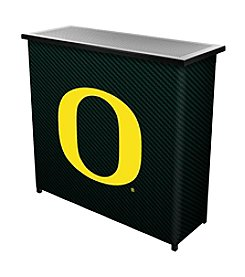 NCAA® University of Oregon Portable Bar with Case - Carbon Fiber