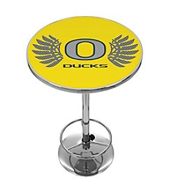 NCAA® University of Oregon Chrome Pub Table - Wings