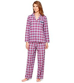 Ellen Tracy® Flannel Pajama Set