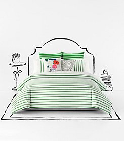 kate spade new york Harbour Stripe Comforter Collection