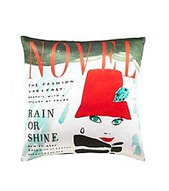 kate spade new york®  Rain or Shine Decorative Pillow