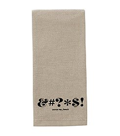 kate spade new york® Expletive Kitchen Towel