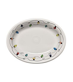 Fiesta® Christmas Lights Vegetable Platter