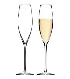 Waterford® Elegance Set Of Two Champagne Glasses