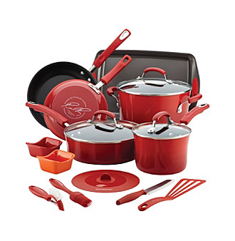 16-Pc. Rachael Ray Nonstick Cookware Set