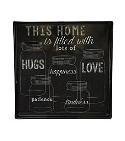 Boston Warehouse This Home Is Filled With Love Square Tray