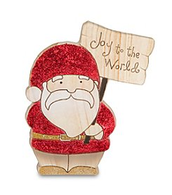 Pavillion Gift Company® Santa Joy To The World Figurine