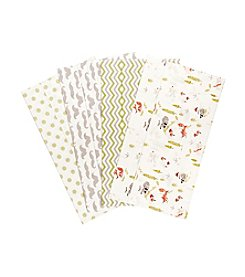Trend Lab® 4-Pack Winter Woods Burp Cloths