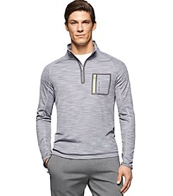 Calvin Klein Perfromance Men's Space Dyed 1/4 Zip Pullover