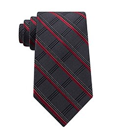 John Bartlett Men's Courtland Grid Pattern Tie