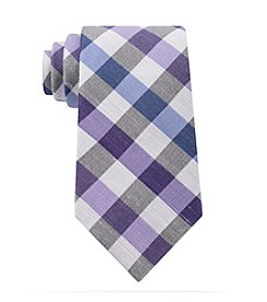 John Bartlett Statements Men's Bold Buffalo Plaid Tie