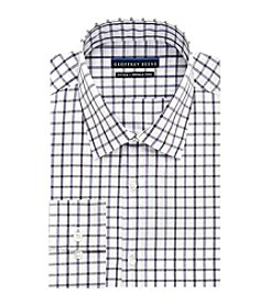 Geoffrey Beene® Men's Plaid Spread Collar Dress Shirt