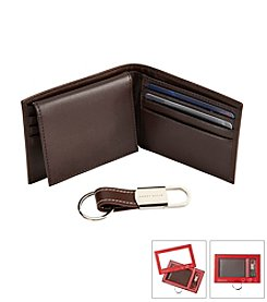 Perry Ellis® Men's Soft Leather Passcase