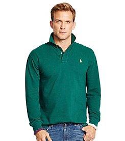 Polo Ralph Lauren® Men's Long-Sleeved Classic-Fit Mesh Polo Shirt