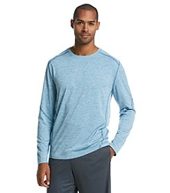 Exertek® Men's Long Sleeve Heathered Performance Tee