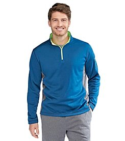 Exertek® Men's Colorblock Quarter Zip Pullover