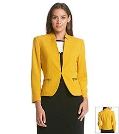 Nine West® Inverted Collar Jacket