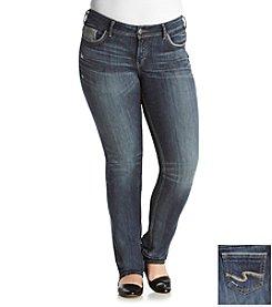Silver Jeans Co. Plus Size Suki Straight Leg Jeans