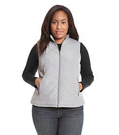 Relativity® Plus Size Anorak Vest
