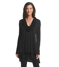 Chelsea & Theodore® Solid Tiered Tunic