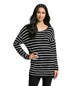 August Silk® Stripe Tunic