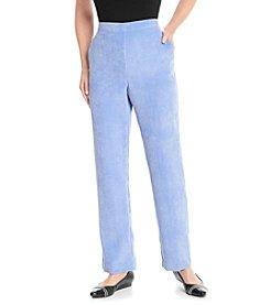 Alfred Dunner® Petites' Aurora Borealis Solid Short Pants