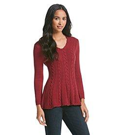 Cupio Peplum Sweater