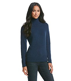 PLY Cashmere® Cashmere Turtleneck Sweater