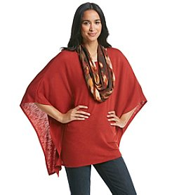 AGB® Poncho With Scarf