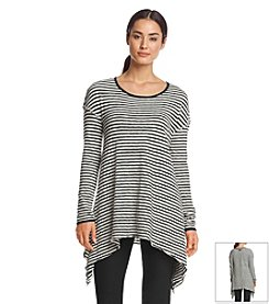 Calvin Klein Performance Stripe Sharkbite Top