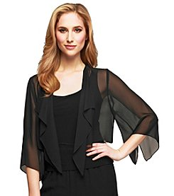 Alex Evenings® Chiffon Bolero Jacket