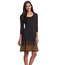 Nine West® Jacquard Sheath Dress