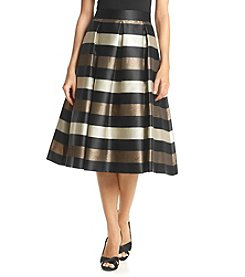 Eliza J® Striped Midi Skirt