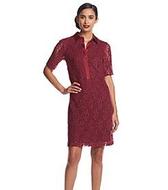 Marc New York Lace Shirt Dress