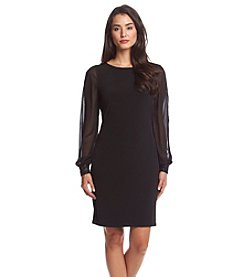 Ivanka Trump® Chiffon Shift Dress