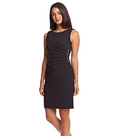 Ivanka Trump® Classic Sheath Crepe Dress