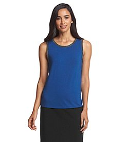 Anne Klein® Jewel Trim Tank Top