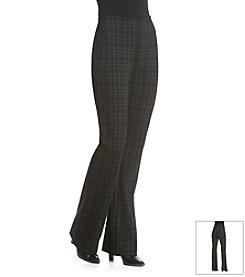 Gloria Vanderbilt® Jolie Plaid Ponte Pant