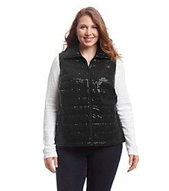 Laura Ashley® Plus Size Sparkle Vest