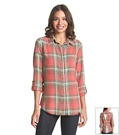 Taylor & Sage™ Plaid Shirt